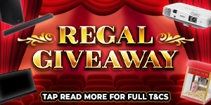Regal Giveaway