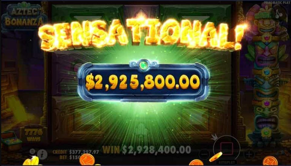 Aztec Bonanza Slot Big Win