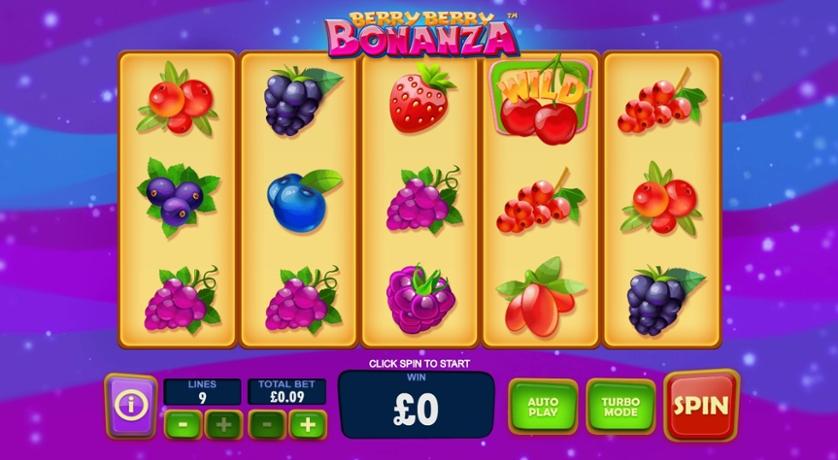 Berry Berry Bonanza Slot Gameplay