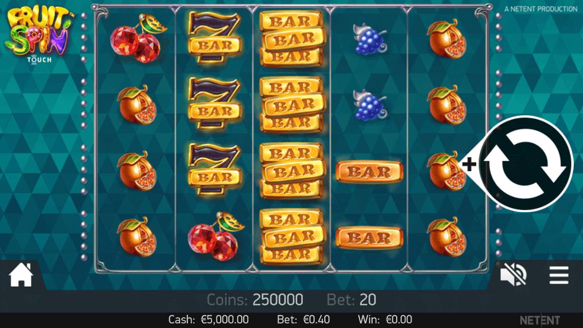 Fruit Spin Slot Gameplay