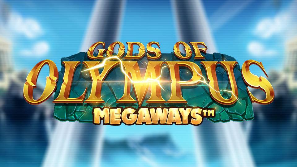 Gods of Olympus Megaways Slot Logo Bonanza Slot