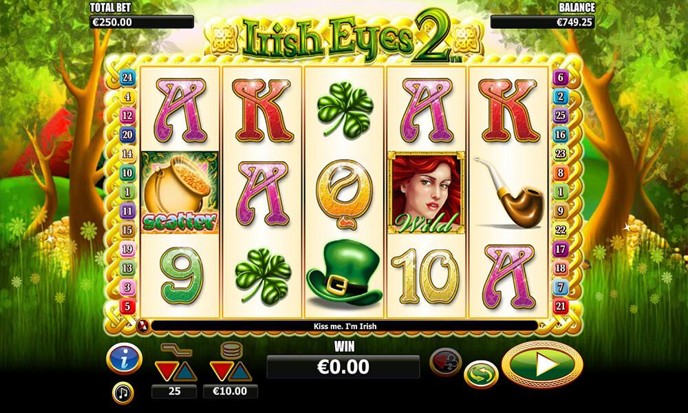Irish Eyes 2 Slot Gameplay