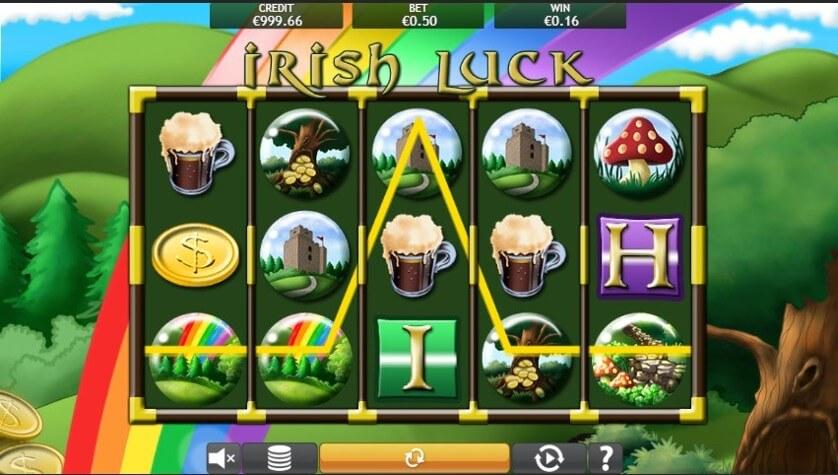 Irish Luck Jackpot Slot Bonus
