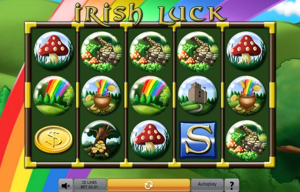 Irish Luck Jackpot Slot Gameplay