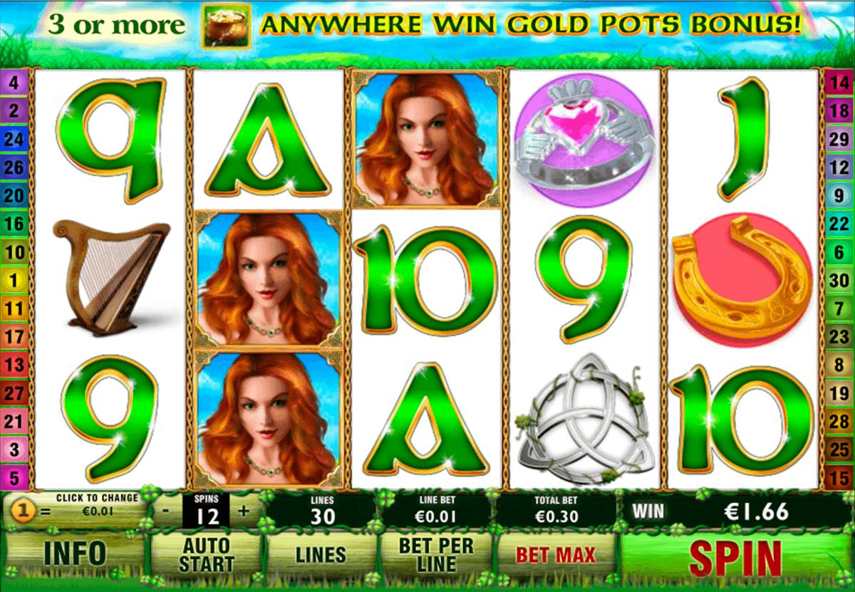 Irish Luck Slots Reels