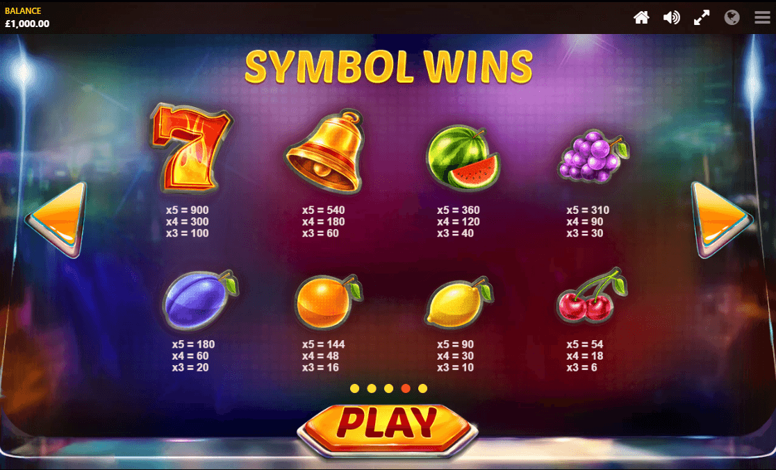 Mystery Reels Slots Symbols