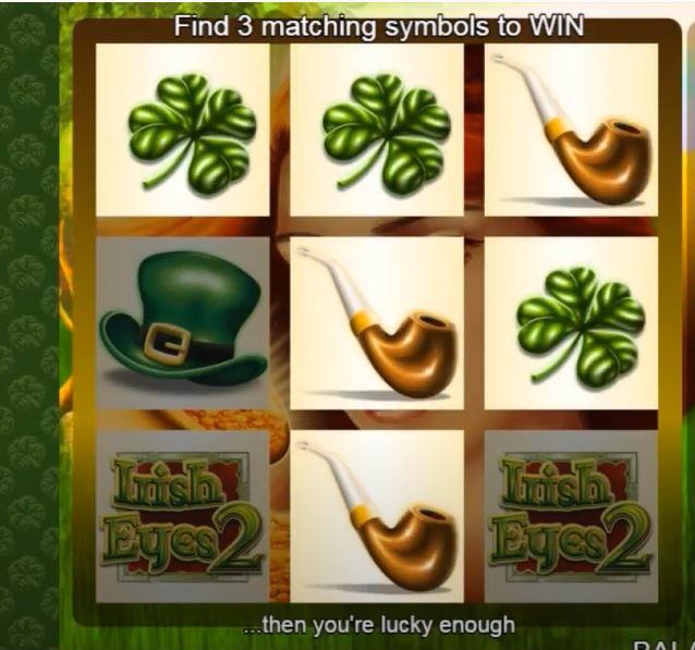 Scratch Irish Eyes 2 Bonus