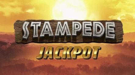 Stampede Jackpot Slot Logo Bonanza Slots