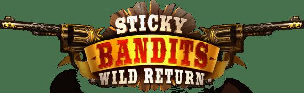 Sticky Bandits Slot Logo Bonanza Slots