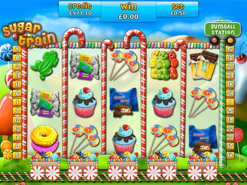 Sugar Train Slot Gameplay