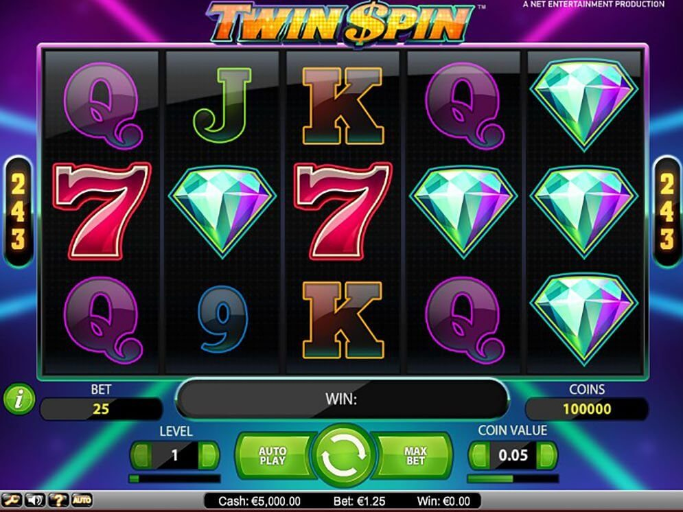 Twin Spin Slot Gameplay