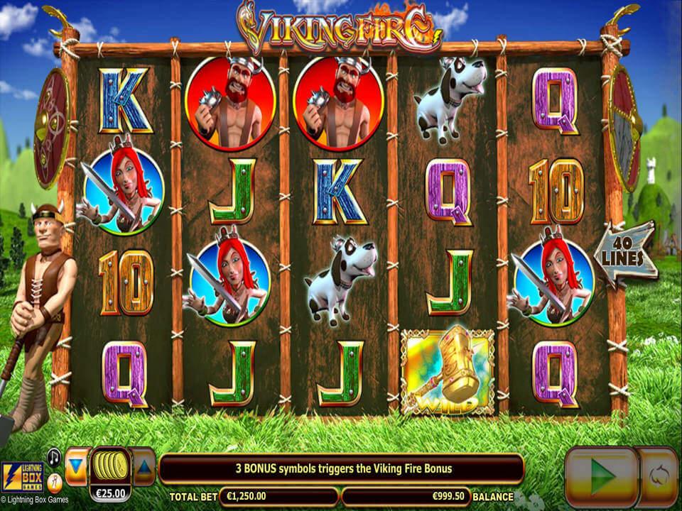 Viking Fire Slot Bonus
