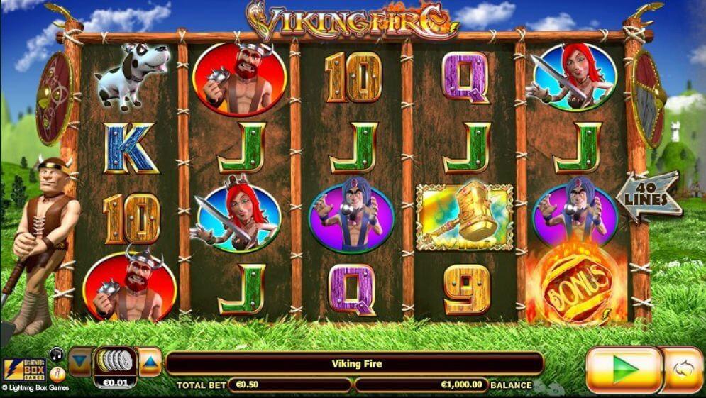 Viking Fire Slot Gameplay