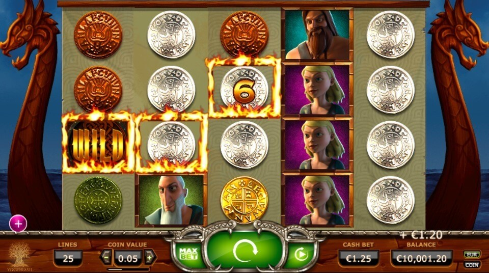 Vikings Go Wild Slot Bonus