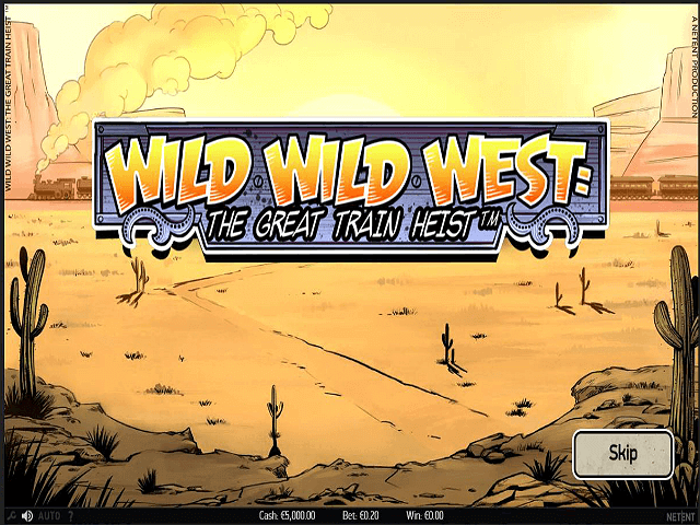 Wild Wild West The Great Train Heist Review