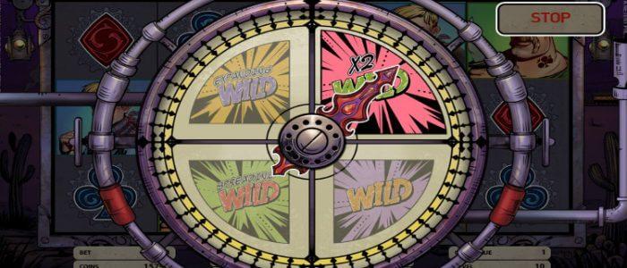 Wild Wild West The Great Train Heist Slot Gameplay