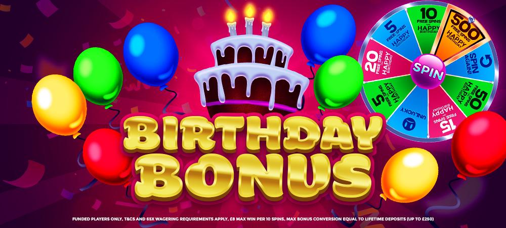 Bonanza Slots - Birthday Bonus