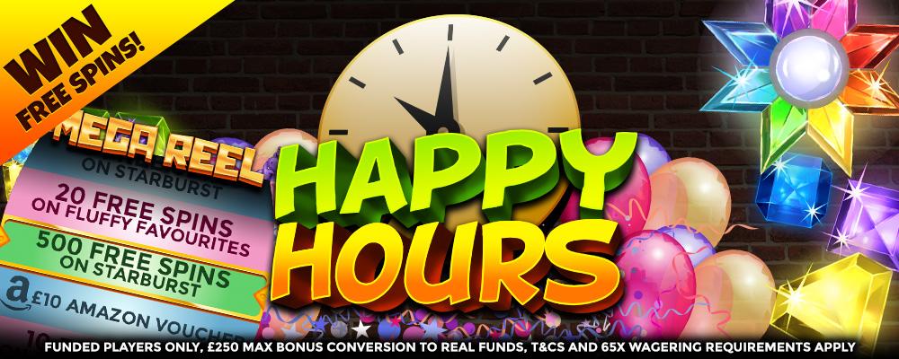 happyhour - Bonanzaslots - offers