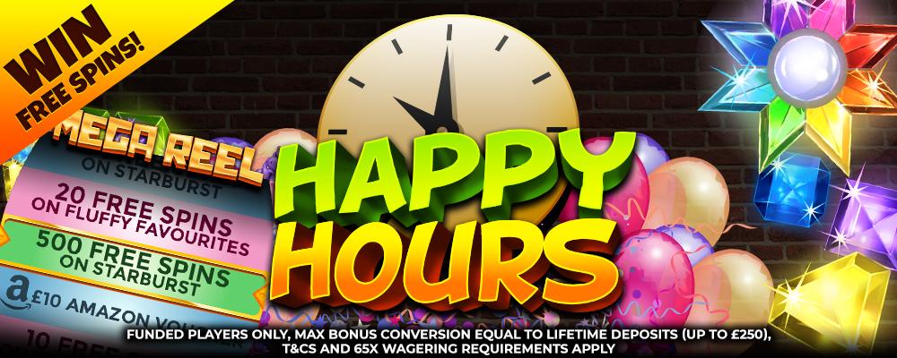HappyHour Bonanzaslots Offer