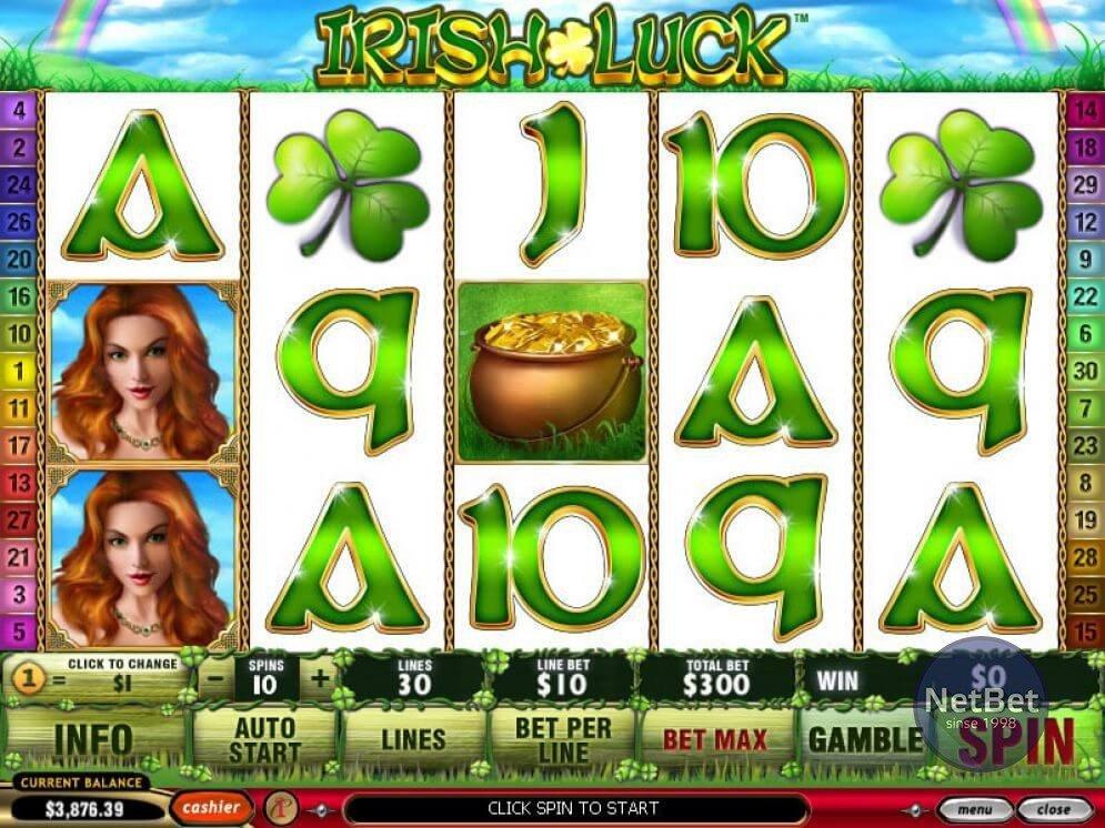 Irish Luck Slot Gameplay