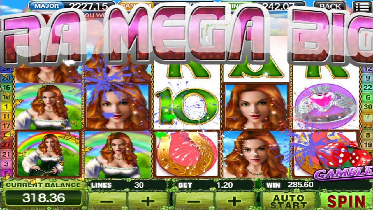 Irish Luck Slot Big Win
