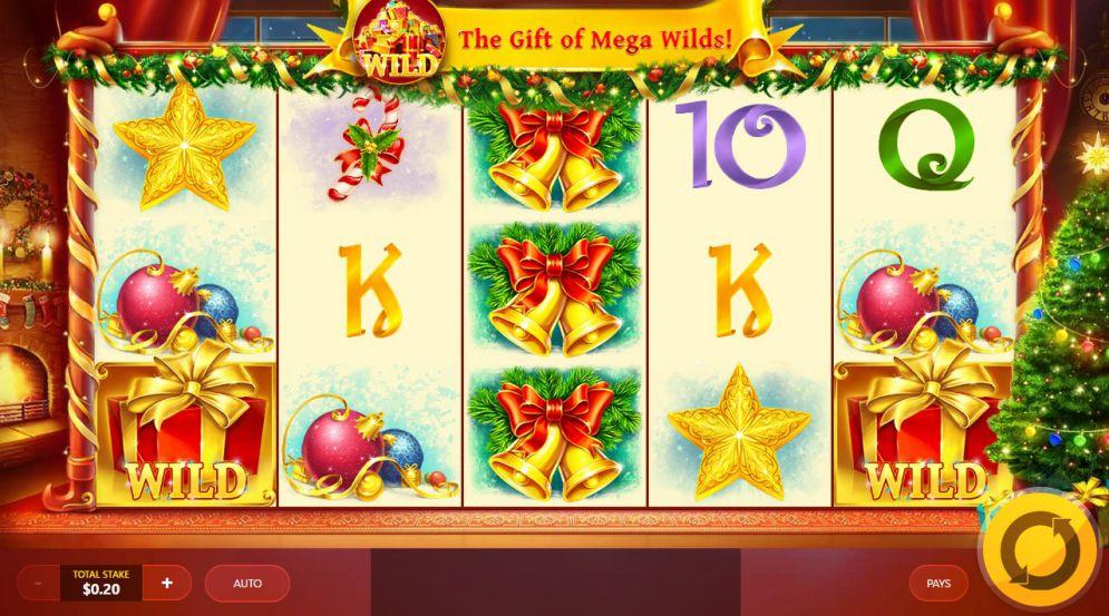 Jingle Bells Slots Gameplay