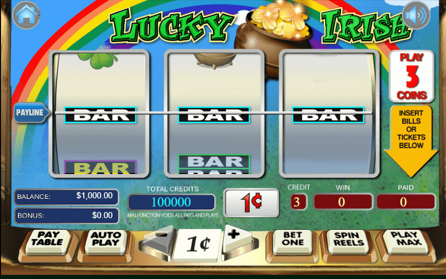 Lucky Irish Slot Bonus