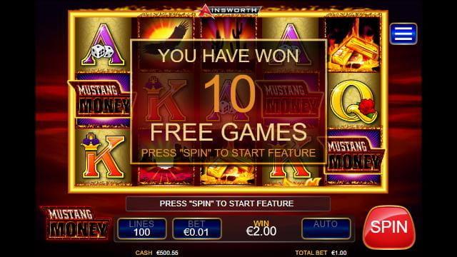 Mustang Money Slots Free Spins