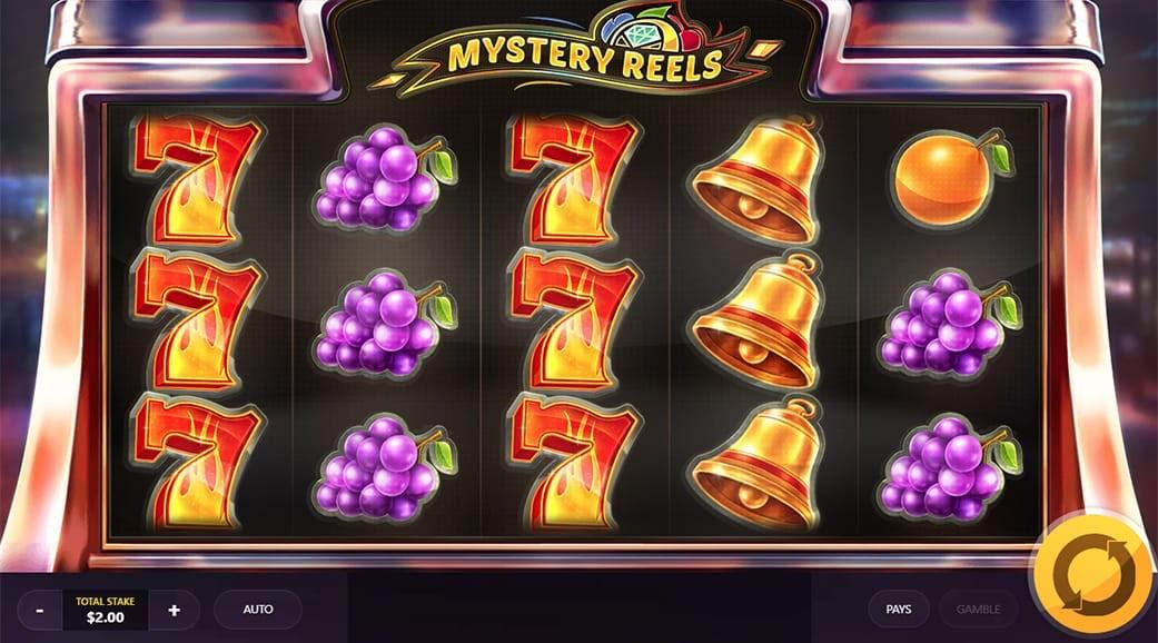 Mystery Reels Slot Gameplay