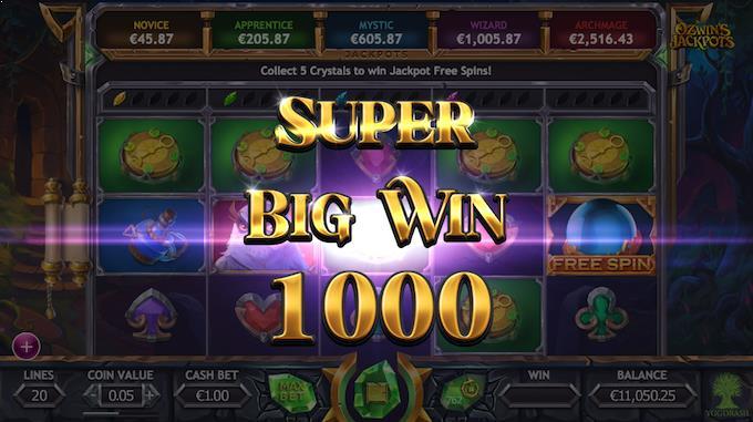 Ozwins Jackpot Slots Big Win