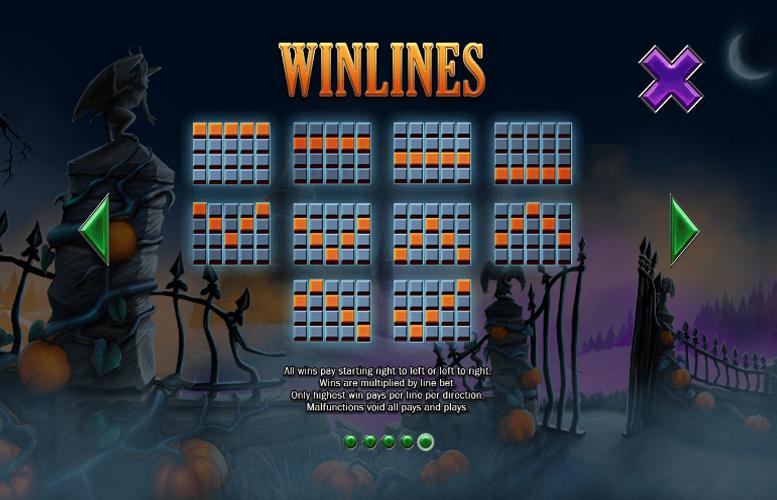 Pumpkin Bonanza Slot Paylines