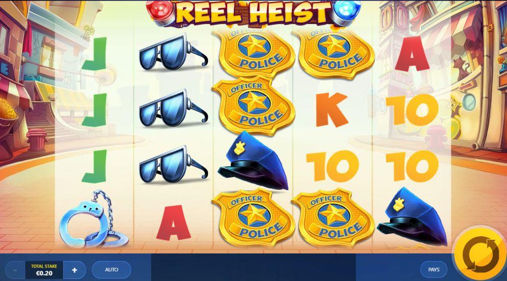 Reel Heist Slot Gameplay