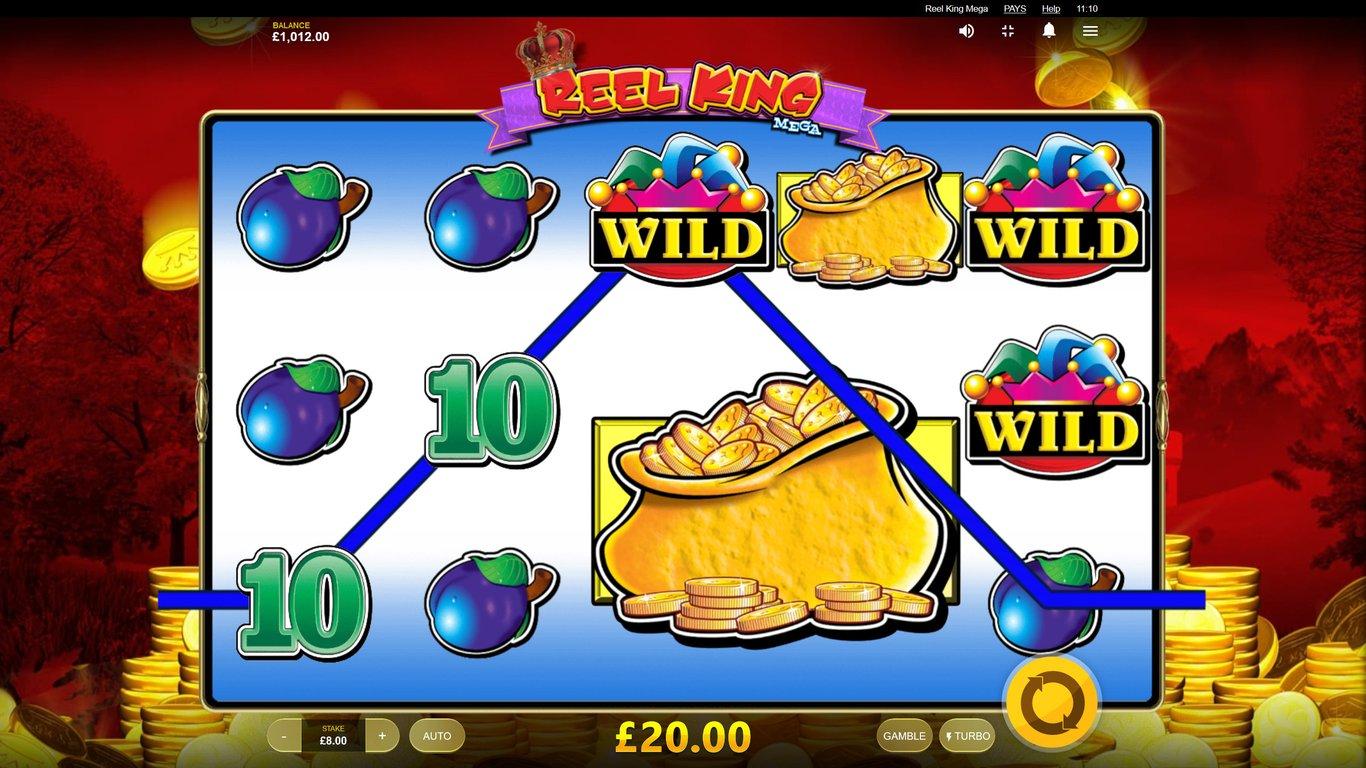 Reel King Mega Slot Paylines