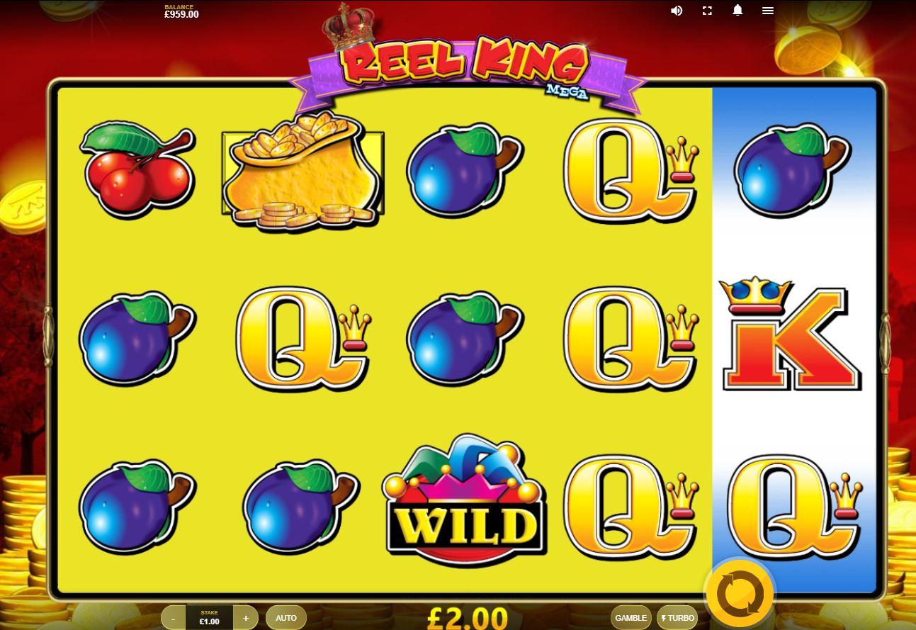 Reel King Mega Slots Gameplay