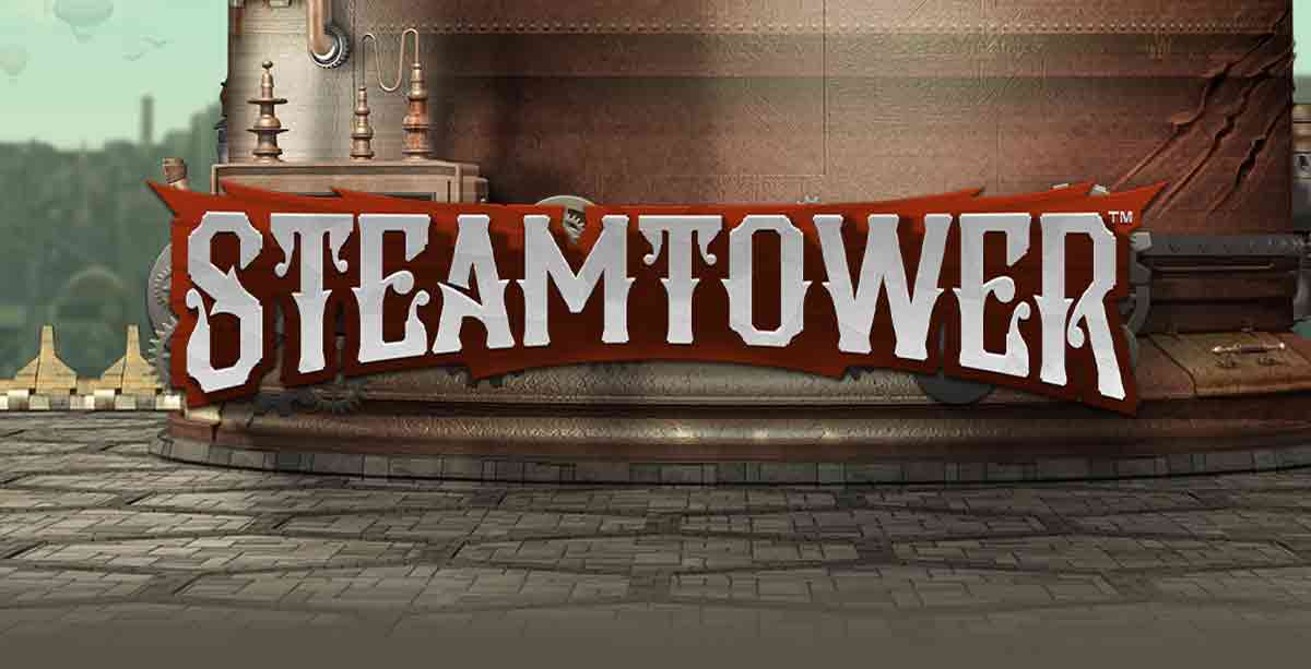 Steam Tower Slot Logo Bonanza Slots
