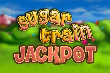 Sugar Train Jackpot Slot Logo Bonanza Slots